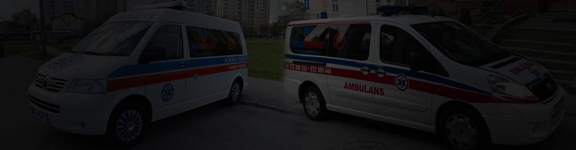 Transport sanitarny ( medyczny )