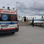 Transport sanitarny drogą lotniczą
