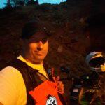 Bartek na motocyklu