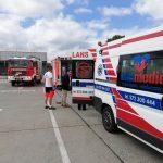 transport medyczny z lotniska