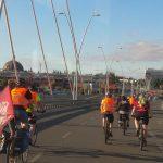 rowery na moście