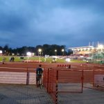 Stadion wieczorem