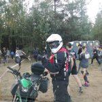 Zabezpieczenie motocyklem